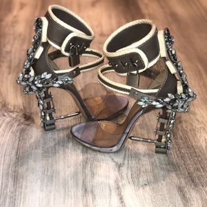 dsquared heels virginia sandals